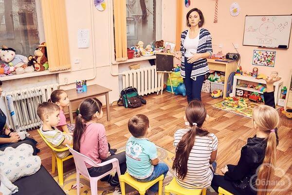 Тренинг для Детского центра благотворительного фонда «Облака» (Барнаул)