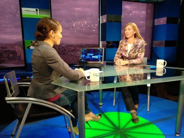 Руководитель филиала в Челябинске дала интервью телеканалу 31