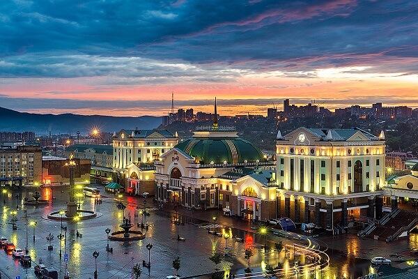 Привет, Красноярск!