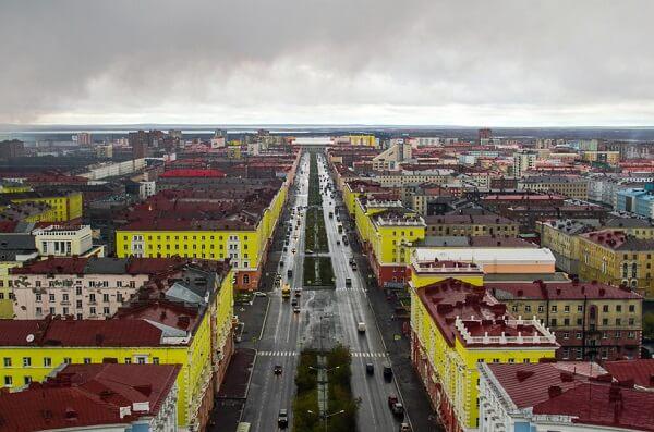Приветствуем Норильск!